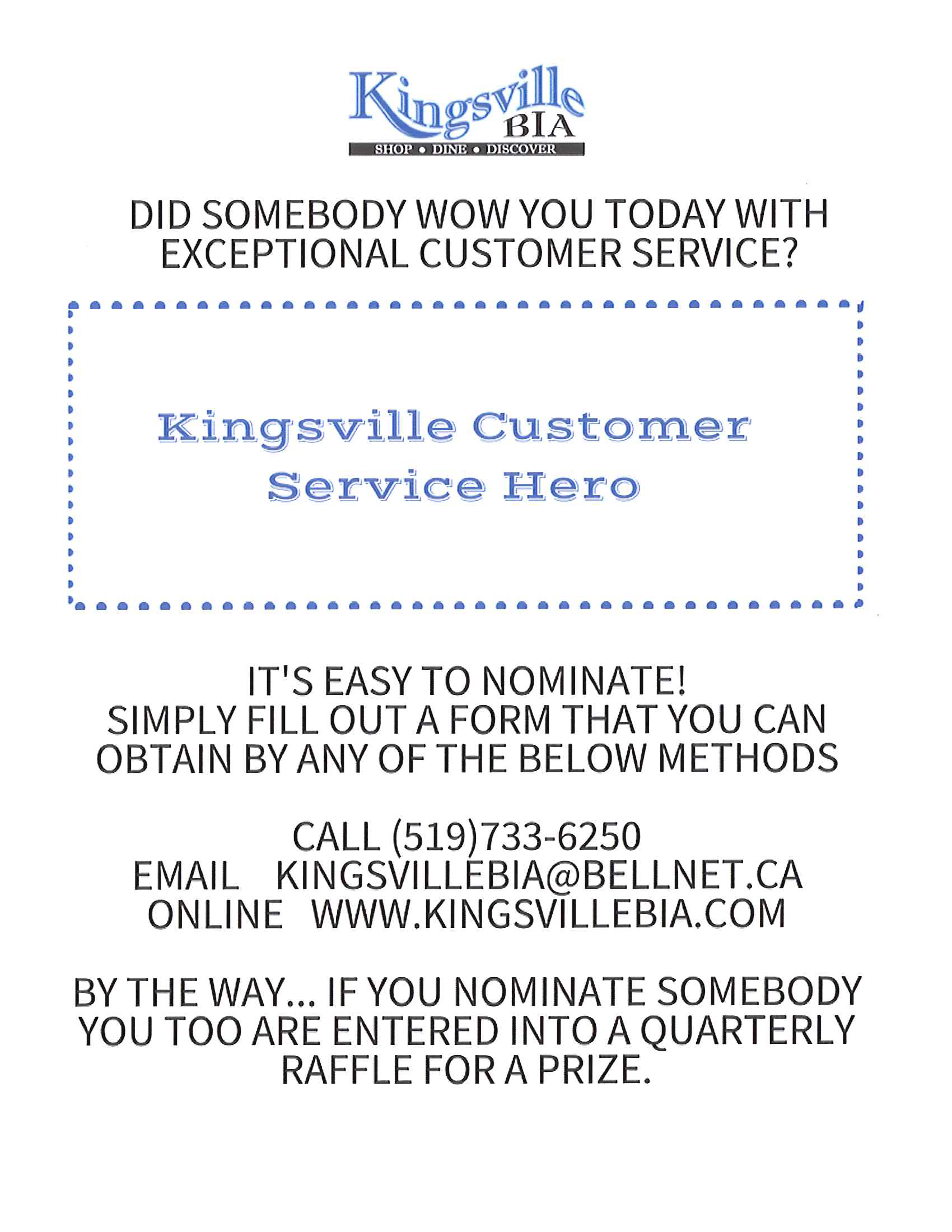 customer service hero program